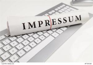 impressum einer website © sp4764