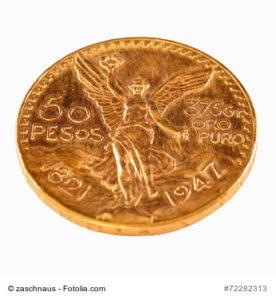 50 Pesos Goldmnze
