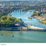 Koblenz, Blick auf das Deutsche Eck
